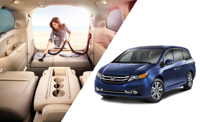 Honda's 2014 Odyssey minivan to bring first vacuum cleaner into minivans
