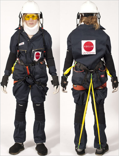 MIT's AgeLab Develops AGNES Suit
