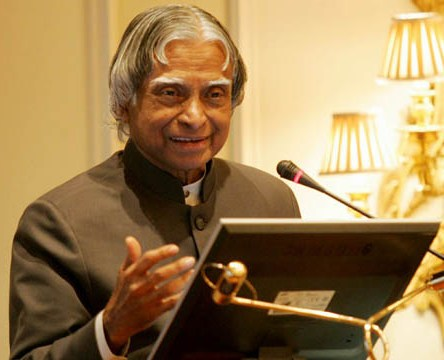 Kalam spends a day with children
