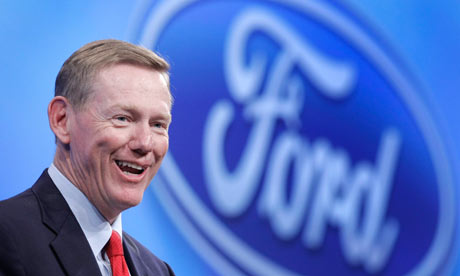 Ford CEO Alan Mulally to retire on July 1; to be succeeded by Mark Fields