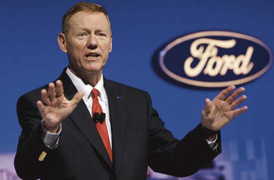 Ford's Alan Mulally turns down rumours of Taking Up Job As Microsoft CEO