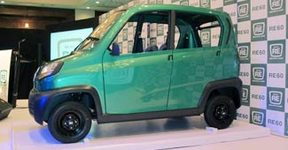 New Rival for Nano, the Bajaj Car