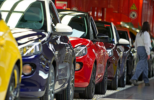 Car Sales Growth Slows in Europe
