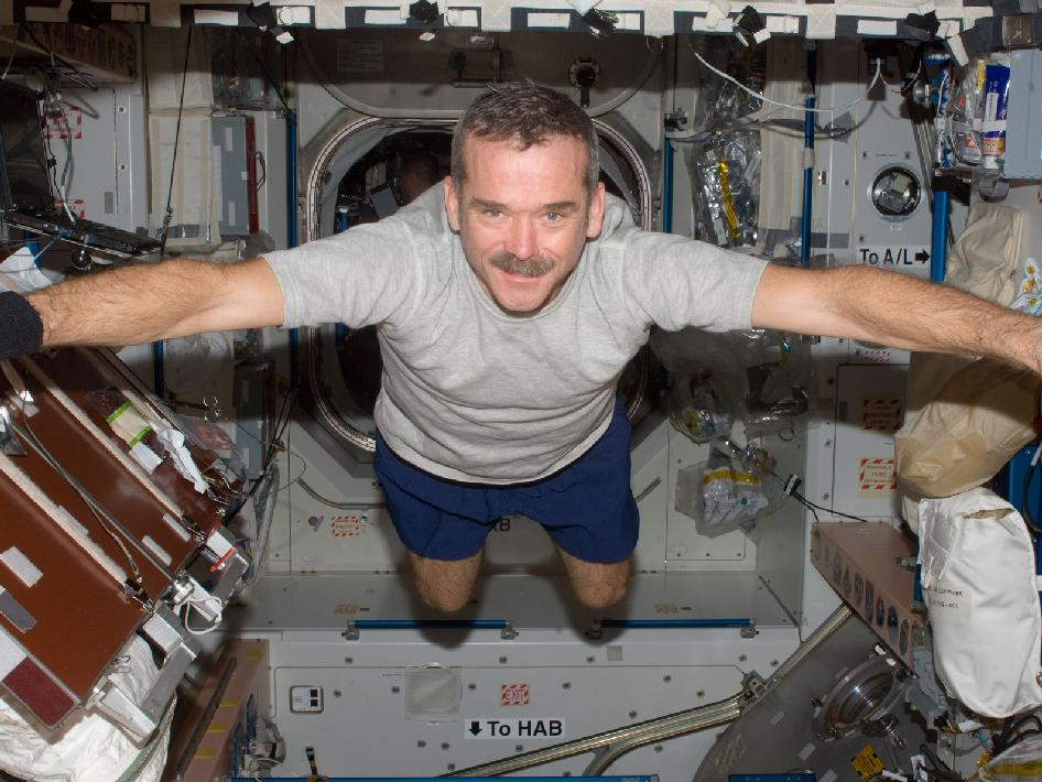 Commander Chris Hadfield Returns to Earth from ISS