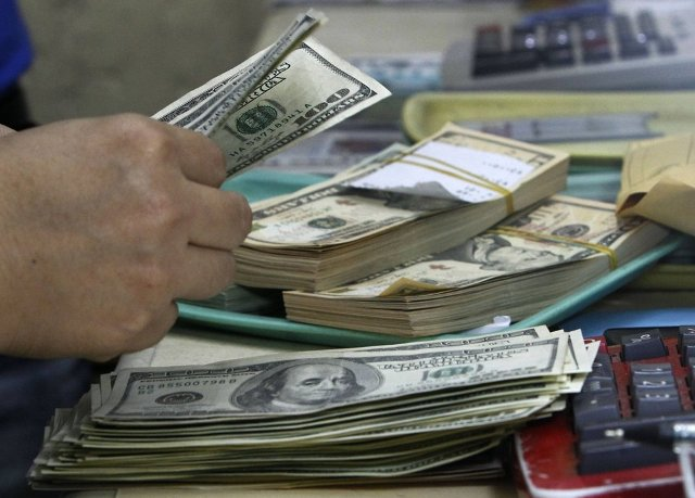 Dollar Climbing Against a Basket of Currencies Easing Anxieties