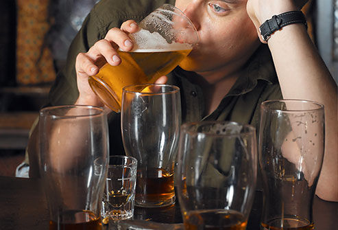Drinking habits linked to partner violence