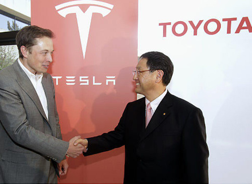 How It All Started for Toyota- Tesla