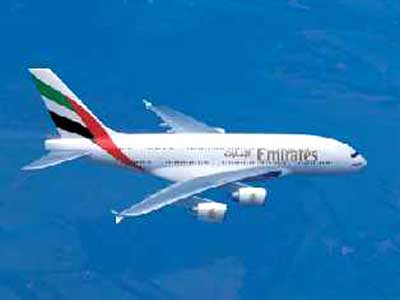 Emirates begetting super jumbo on Indian soil
