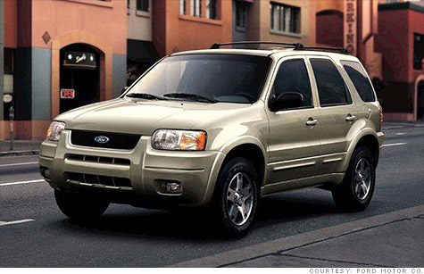 Ford recalls nearly 435,000 cars and SUVs to fix rusting frame parts or faulty seats