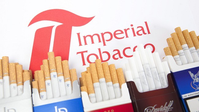 Imperial Tobacco Sales Lower by 7 Percent