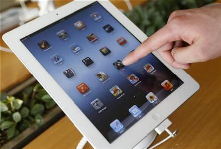 Sharp Pulls down Production of iPad Screens
