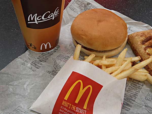Customers Can Question McDonald's  About Food Quality