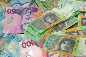 Increase in New Zealand and Australian Dollars