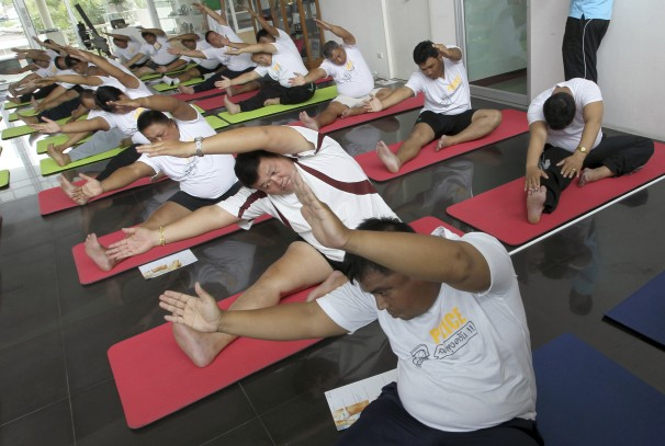Overweight Thai Police to Jog to Lose Weight