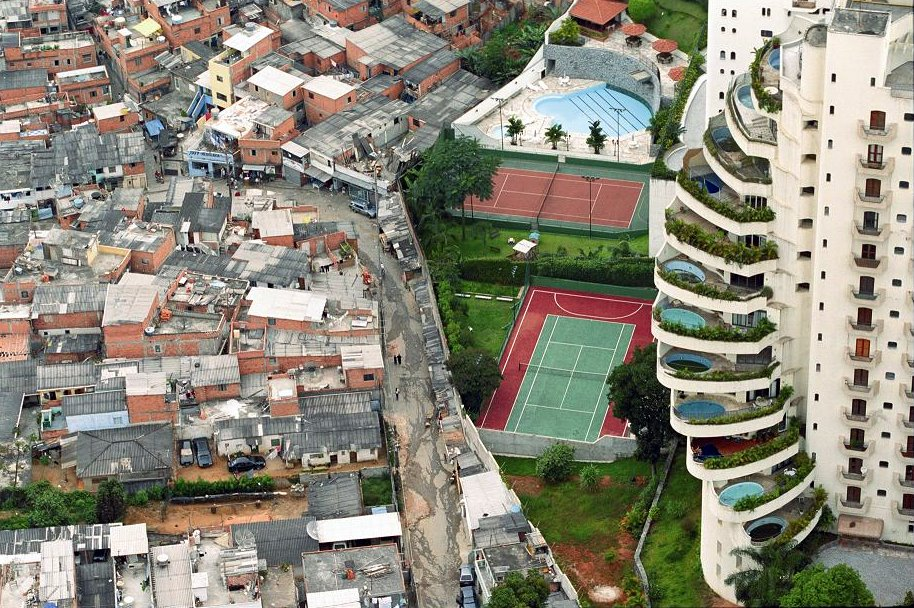 Cash and Class Divide Rich South and Poor North