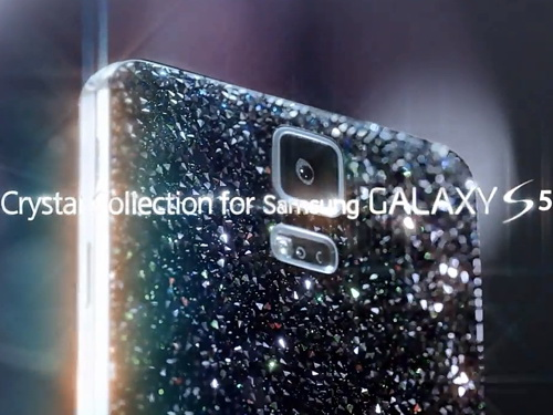 Samsung coming up with Galaxy S5 'Crystal' edition