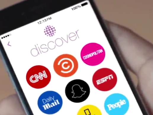 "9  Snapchat's New Platform ""Discover"" Seems to be the Future of News"