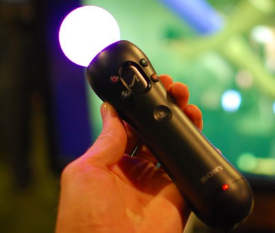 Sony displays Move motion controller