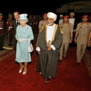 Queen moves to Oman on a state visit