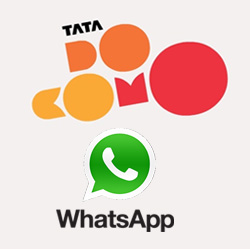 Pre-paid GSM customers of Tata Docomo get two options for WhatsApp data  pack