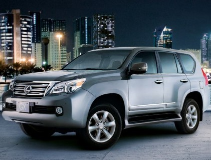 Toyota suspends deliveries of the Lexus GX460