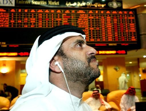 Gulf markets end with heavy sell-off