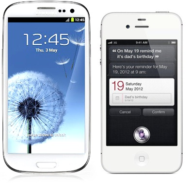 Galaxy S-III Sales Ahead of iPhone: Report