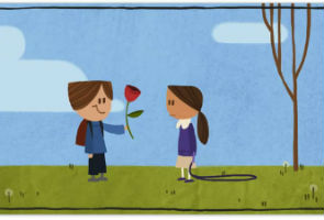 Google Gives New Doodle on This Valentine's Day