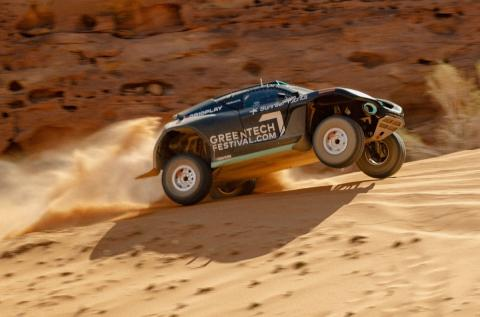 Extreme E kicks off with first all-electric off-road race in Saudi Arabian desert of Al-'Ula